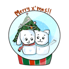 Bubu and Charley Winter Adventures sticker #14583943