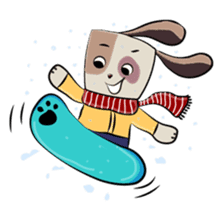 Bubu and Charley Winter Adventures sticker #14583946