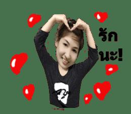 Piggy love sticker #14590129