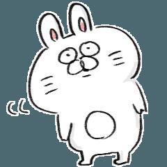 สติ๊กเกอร์ไลน์ rabbit usata