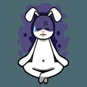 สติ๊กเกอร์ไลน์ Cute rabbit V1