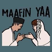 สติ๊กเกอร์ไลน์ Ramadhan and Eid Mubarak