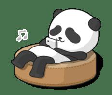 Shaking with Panda Yuan-Zai sticker #14593763