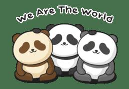 Shaking with Panda Yuan-Zai sticker #14593772