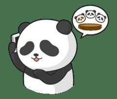 Shaking with Panda Yuan-Zai sticker #14593773