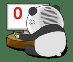 Shaking with Panda Yuan-Zai sticker #14593775