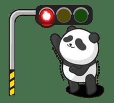 Shaking with Panda Yuan-Zai sticker #14593776