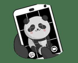 Shaking with Panda Yuan-Zai sticker #14593779