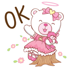 Whitee Bear sticker #14607598