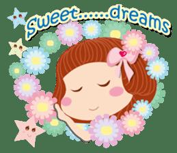 Beauty-Eye girl (English) sticker #14613989