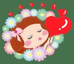 Beauty-Eye girl (English) sticker #14614005