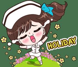Boobib : Happy Nurse sticker #14617893