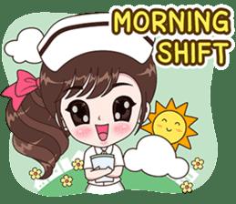 Boobib : Happy Nurse sticker #14617899