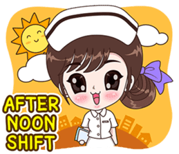Boobib : Happy Nurse sticker #14617900
