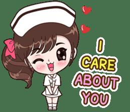 Boobib : Happy Nurse sticker #14617902