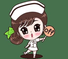 Boobib : Happy Nurse sticker #14617908