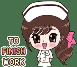 Boobib : Happy Nurse sticker #14617909