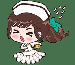 Boobib : Happy Nurse sticker #14617923