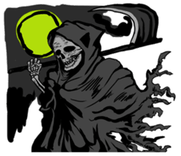 grimreaper sticker #14618353