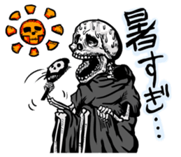 grimreaper sticker #14618359