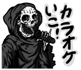 grimreaper sticker #14618372