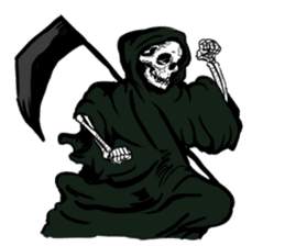 grimreaper sticker #14618379