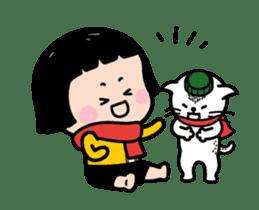 Mobile Girl, MiM - v4 sticker #14619602