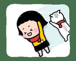 Mobile Girl, MiM - v4 sticker #14619604