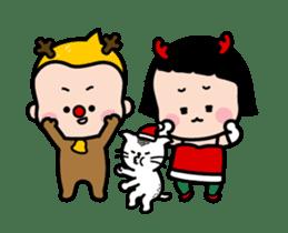 Mobile Girl, MiM - v4 sticker #14619607