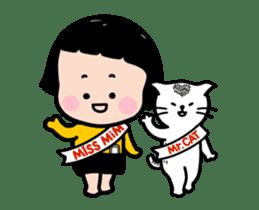 Mobile Girl, MiM - v4 sticker #14619609