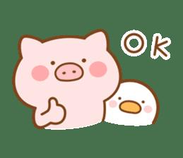 Butatan English4 sticker #14621085