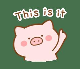 Butatan English4 sticker #14621105