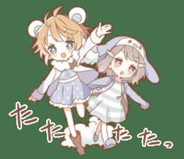 YUKIGUNI Animal Sticker sticker #14623481