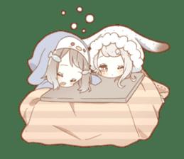 YUKIGUNI Animal Sticker sticker #14623482