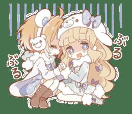 YUKIGUNI Animal Sticker sticker #14623485