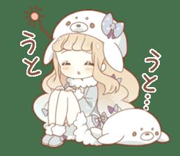 YUKIGUNI Animal Sticker sticker #14623488