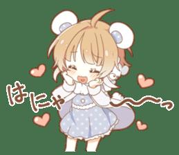 YUKIGUNI Animal Sticker sticker #14623495