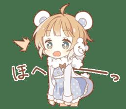 YUKIGUNI Animal Sticker sticker #14623498