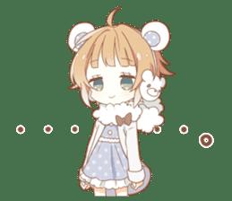 YUKIGUNI Animal Sticker sticker #14623501