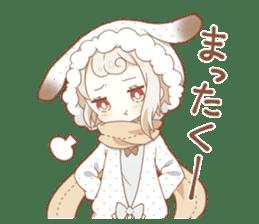 YUKIGUNI Animal Sticker sticker #14623507