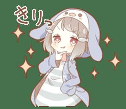 YUKIGUNI Animal Sticker sticker #14623510