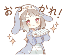 YUKIGUNI Animal Sticker sticker #14623511
