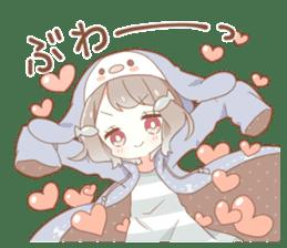 YUKIGUNI Animal Sticker sticker #14623516