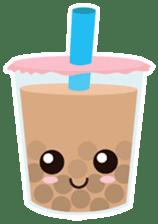 Pearl Milk Tea & Boba sticker #14624958
