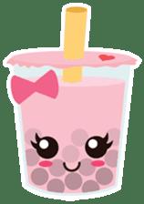 Pearl Milk Tea & Boba sticker #14624959