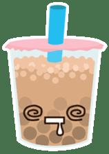 Pearl Milk Tea & Boba sticker #14624964