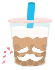 Pearl Milk Tea & Boba sticker #14624965