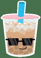 Pearl Milk Tea & Boba sticker #14624967