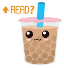 Pearl Milk Tea & Boba sticker #14624970