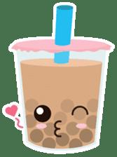 Pearl Milk Tea & Boba sticker #14624971